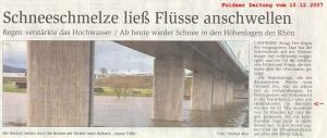 10.12.2007 Hochwasser