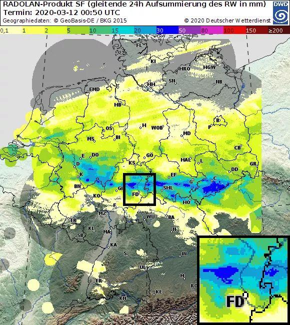 Aktuelles Wetter In Fulda