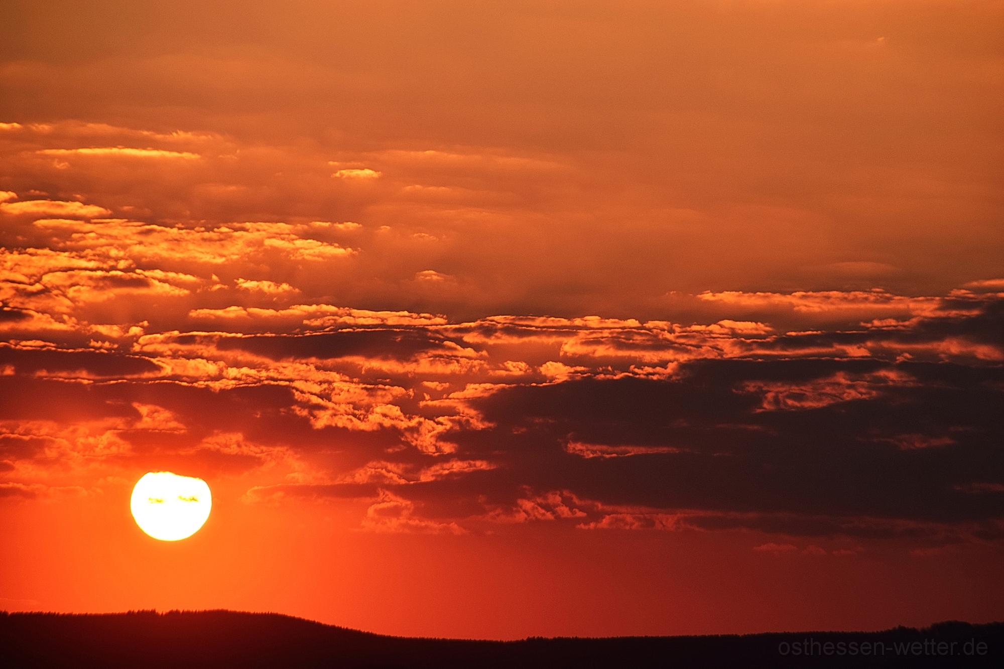 Sonnenaufgang am 09.04.2020 um 06:54:13 CEST