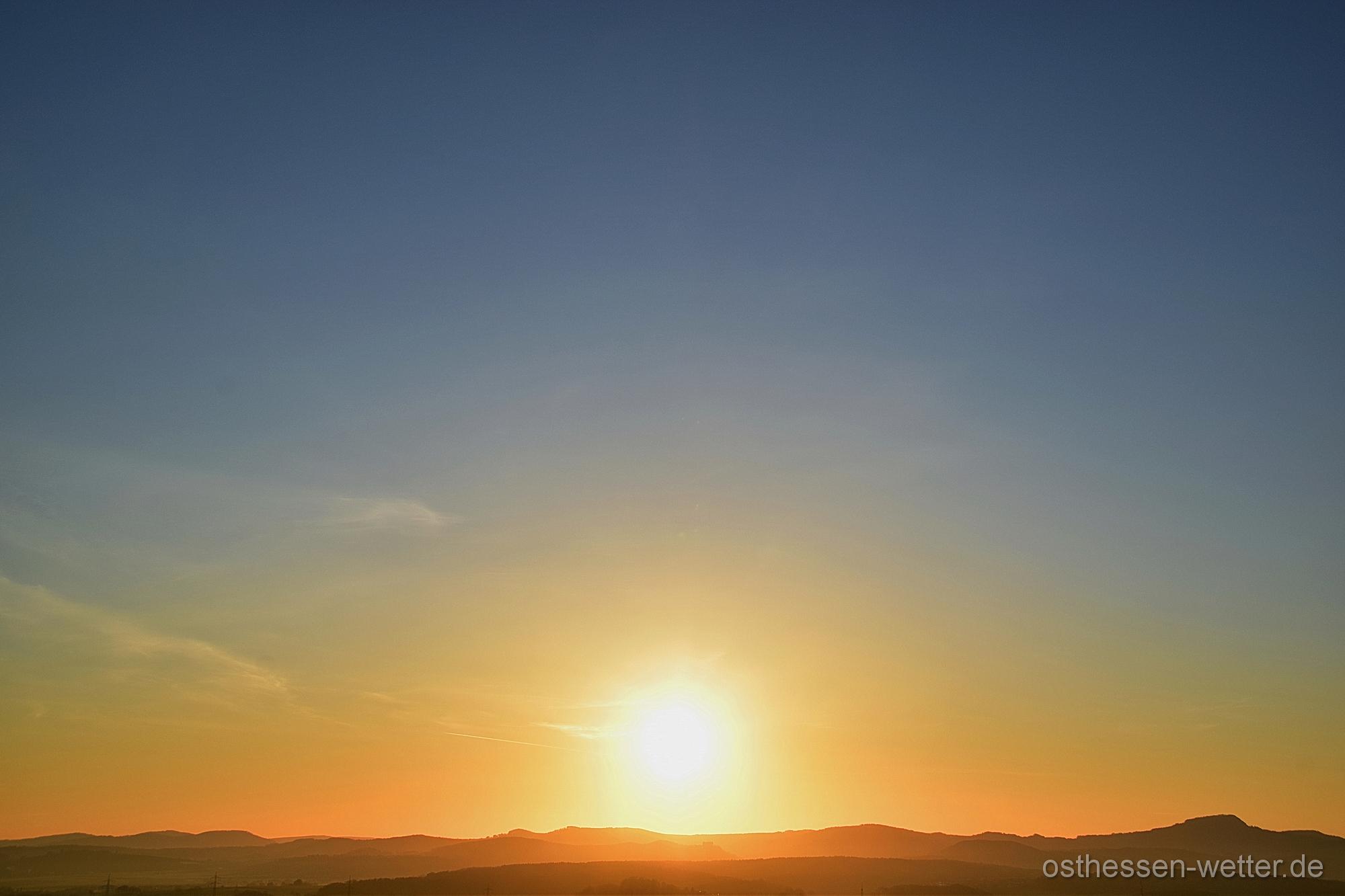 Sonnenaufgang am 10.04.2020 um 07:04:43 CEST