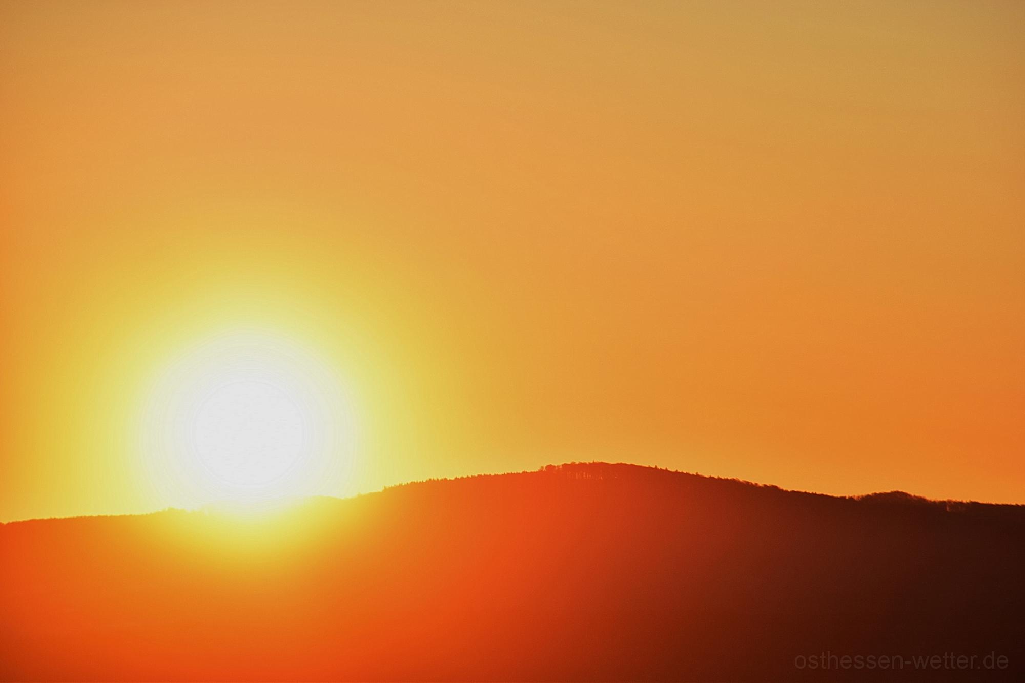Sonnenaufgang am 30.03.2020 um 07:12:47 CEST