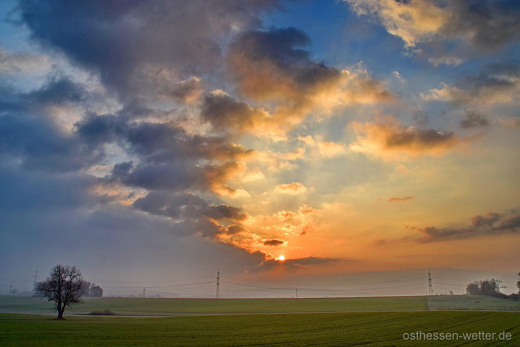 Sonnenaufgang am 04.04.2020 um 07:25:02 CEST