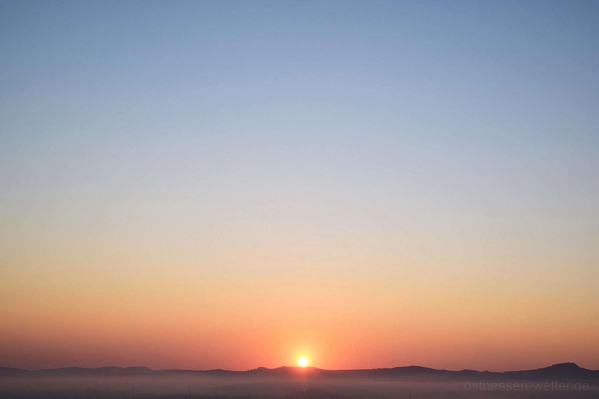 Sonnenaufgang am 08.04.2020 um 06:53:18 CEST
